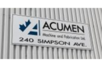 Acumen Machine and Fabrication Ltd.  –  David Horan